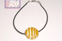 focal bead, basketball bracelet Anklet